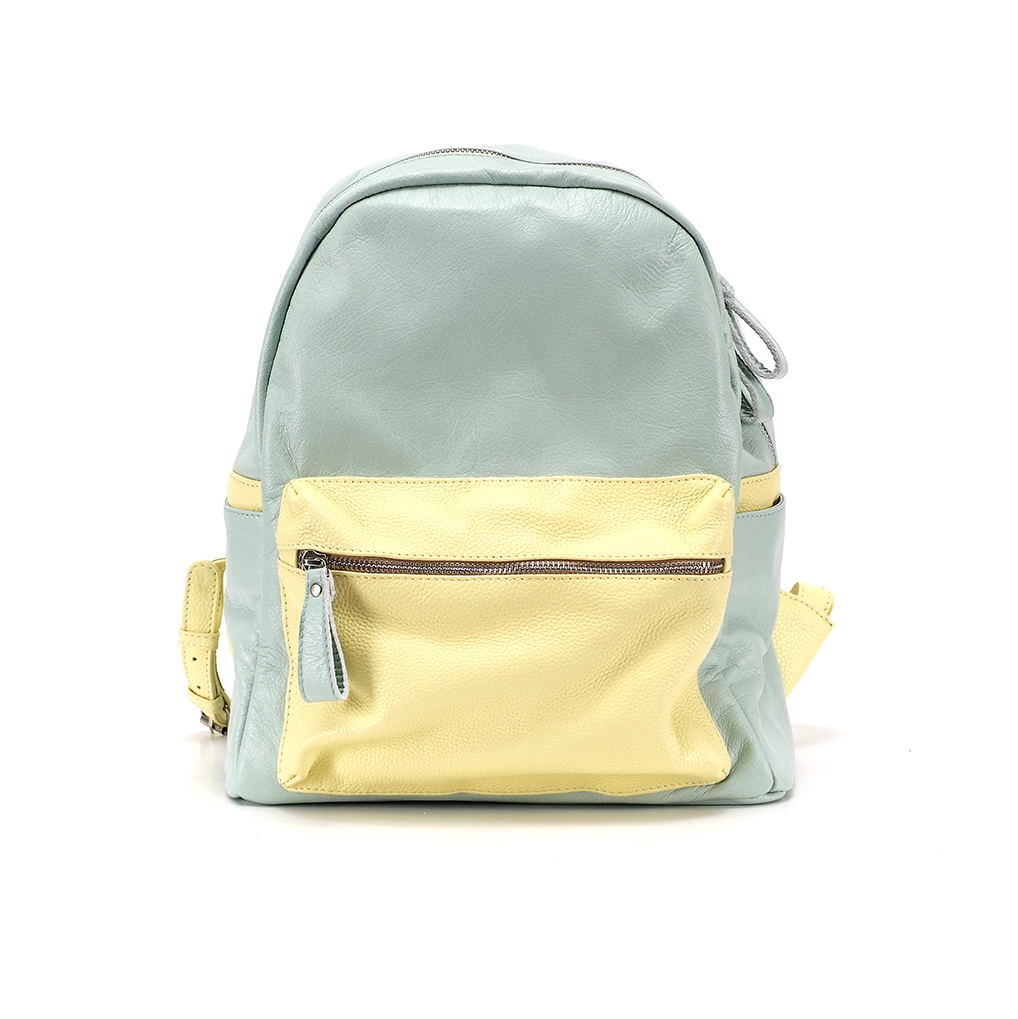 лимонно-мятный рюкзак