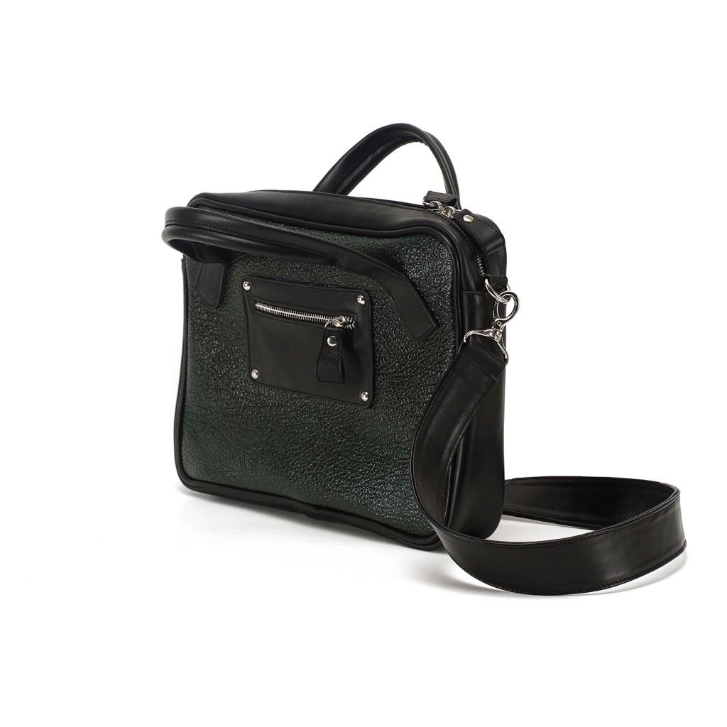 кожаная сумка для ноутбука