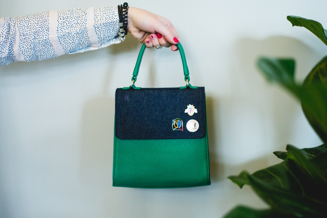 Сумка Ozerianko Bags со значками